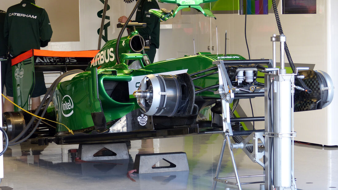 Caterham - Formel 1 - GP England  - Silverstone - 4. Juli 2014