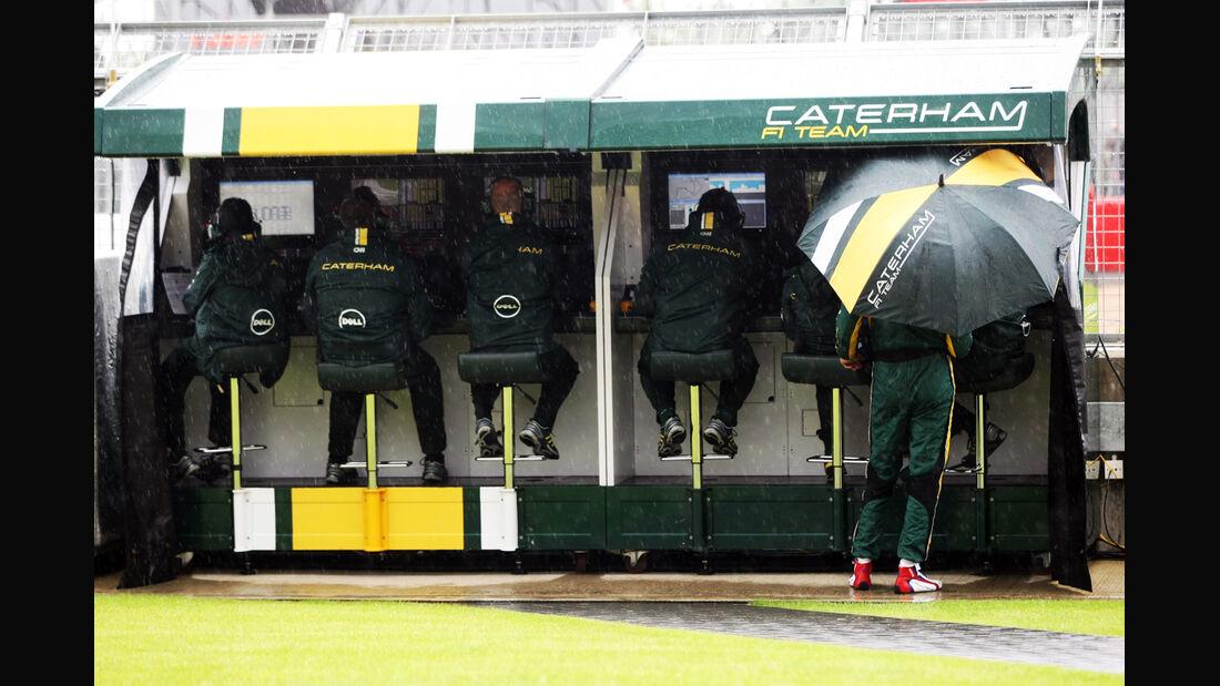 Caterham - Formel 1 - GP England - Silverstone - 6. Juli 2012