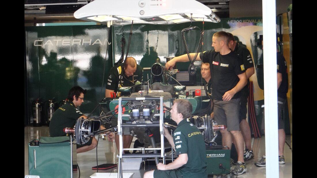 Caterham - Formel 1 - GP Italien - 6. September 2012