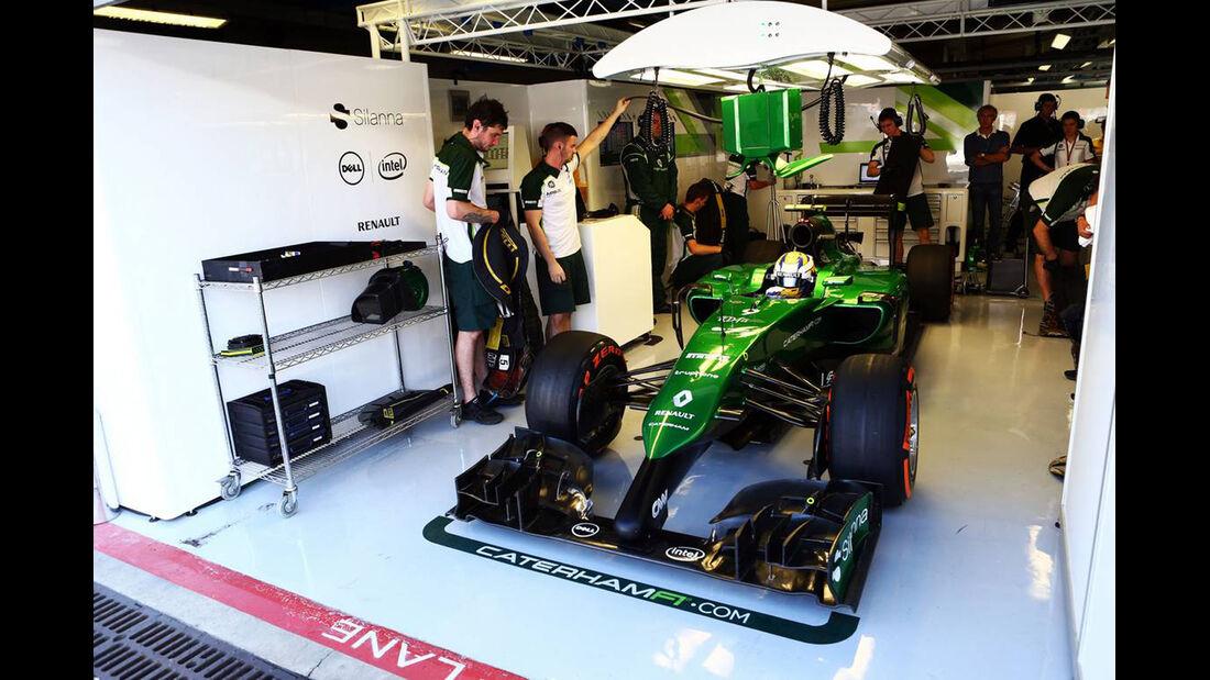 Caterham - Formel 1 - GP Italien - 6. September 2014