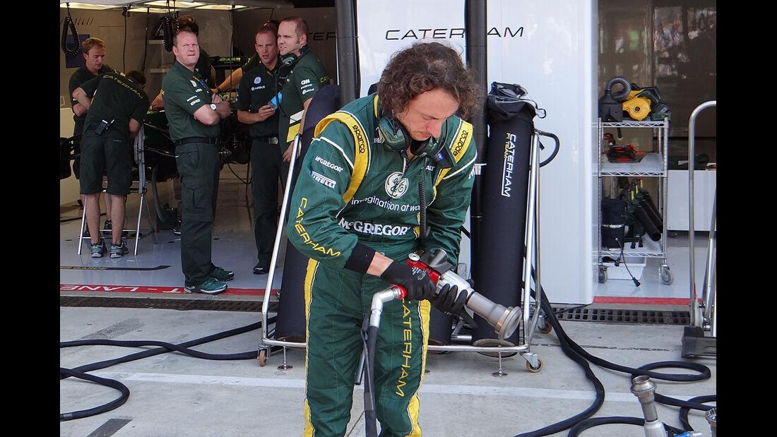 Caterham - Formel 1 - GP Italien - Monza - 6. September 2013