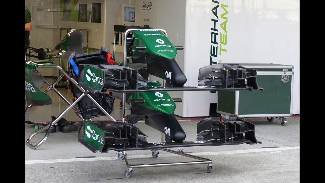Caterham - Formel 1 - GP Japan - Suzuka - 1. Oktober 2014