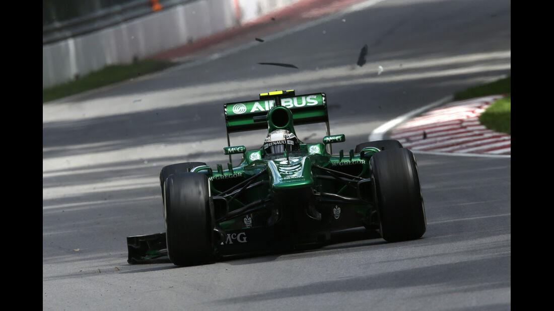 Caterham - Formel 1 - GP Kanada 2013