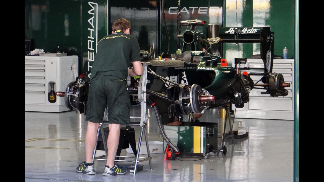 Caterham - Formel 1 - GP Korea - 11. Oktober 2012