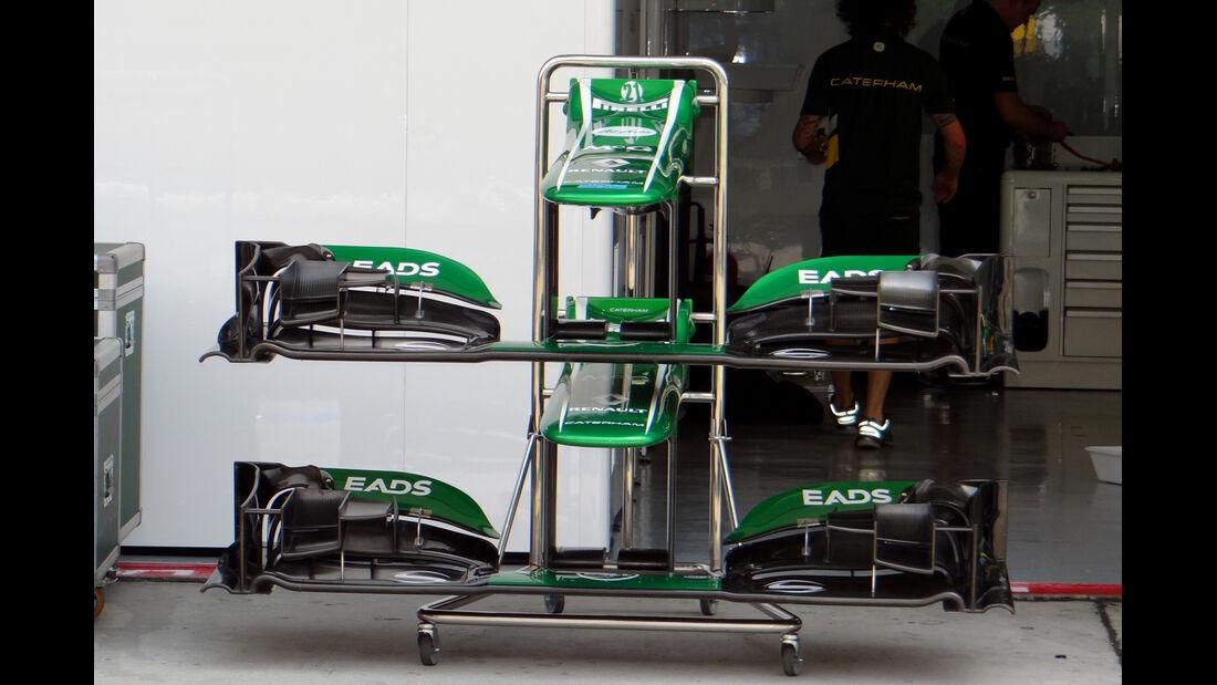 Caterham - Formel 1 - GP Malaysia - 20. März 201