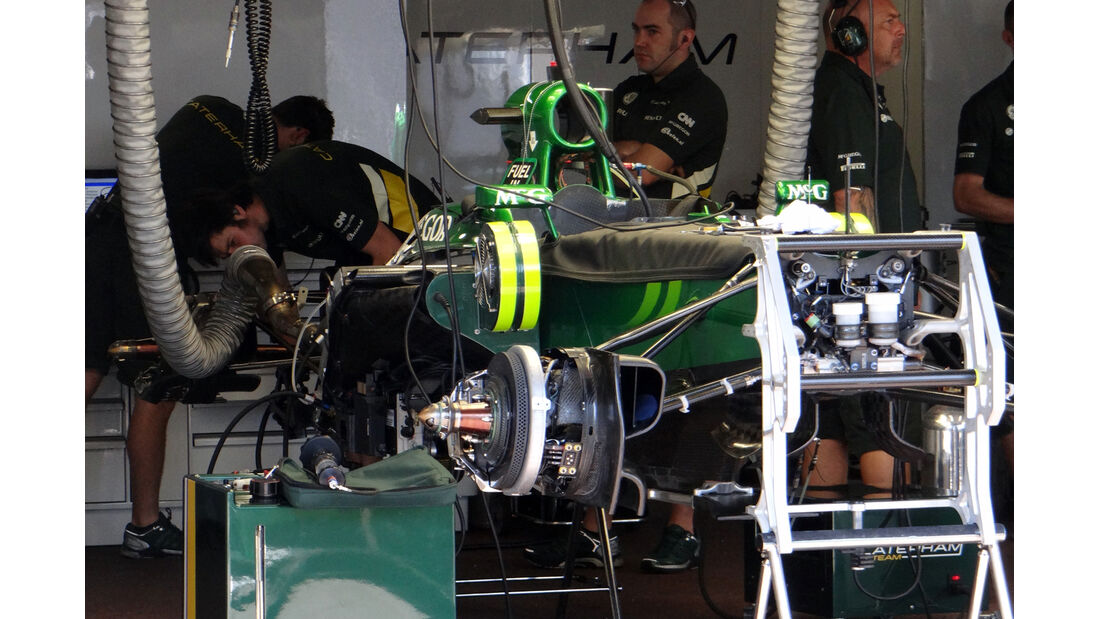 Caterham - Formel 1 - GP Monaco - 22. Mai 2013