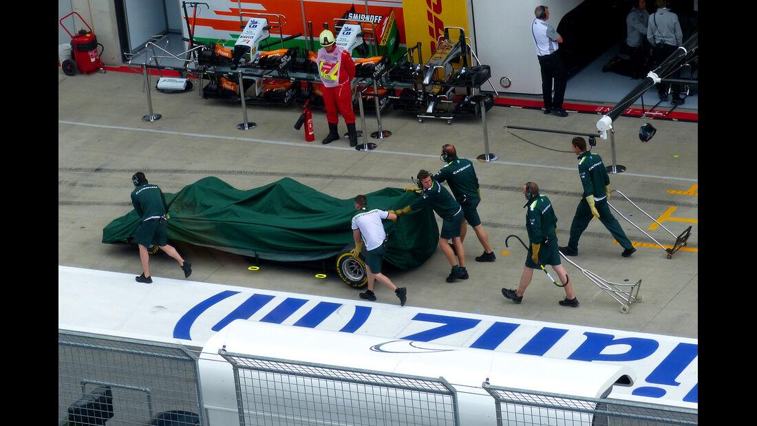 Caterham - Formel 1 - GP Österreich - Spielberg - 20. Juni 2014