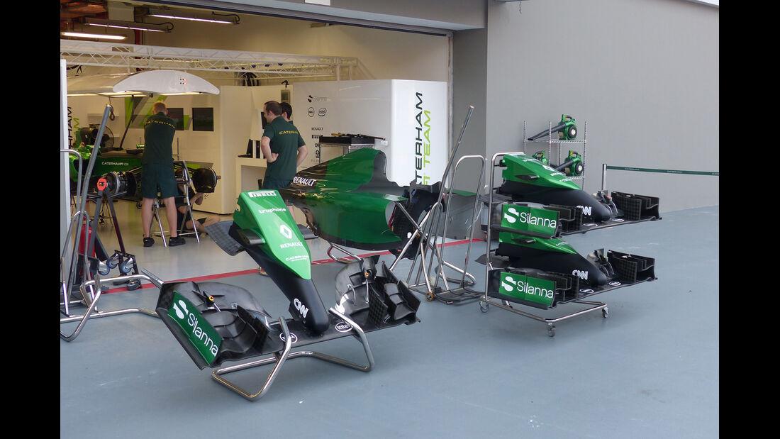 Caterham - Formel 1 - GP Singapur - 17. September 2014