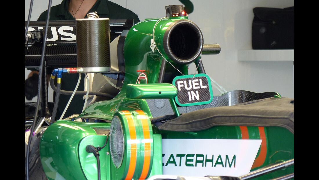 Caterham - Formel 1 - GP Spanien - Barcelona - 8. Mai 2014
