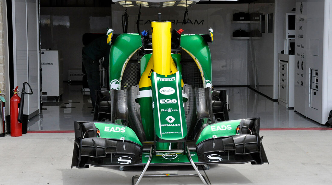 Caterham - Formel 1 - GP USA - 14. November 2013