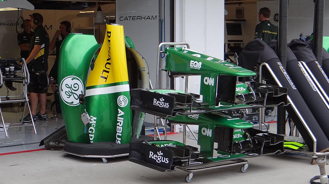 Caterham - Formel 1 - GP Ungarn - 25. Juli 2013