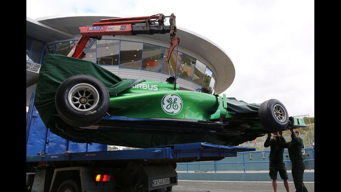 Caterham - Formel 1 - Jerez-Test 2014