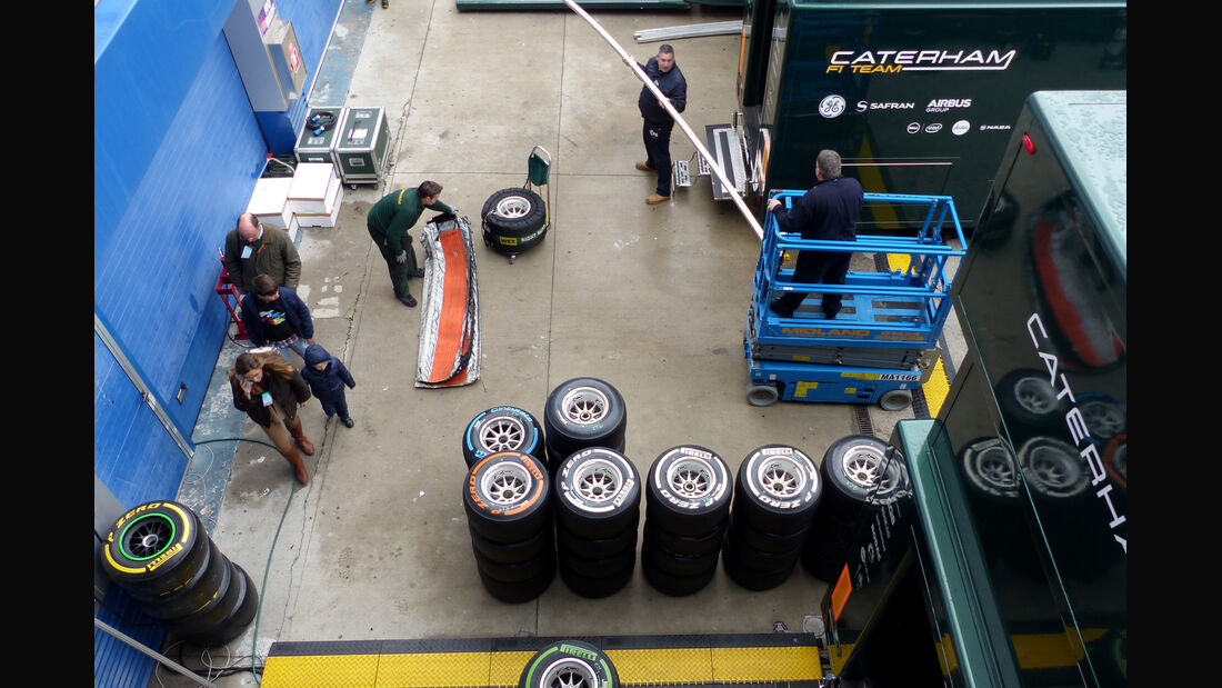 Caterham - Formel 1 - Jerez - Test - 31. Januar 2014