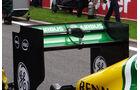 Caterham - Formel 1-Technik - GP Belgien 2013