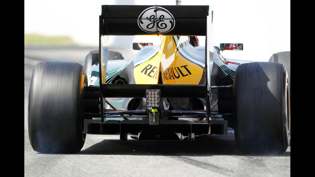 Caterham Formel 1 Technik GP Spanien 2012