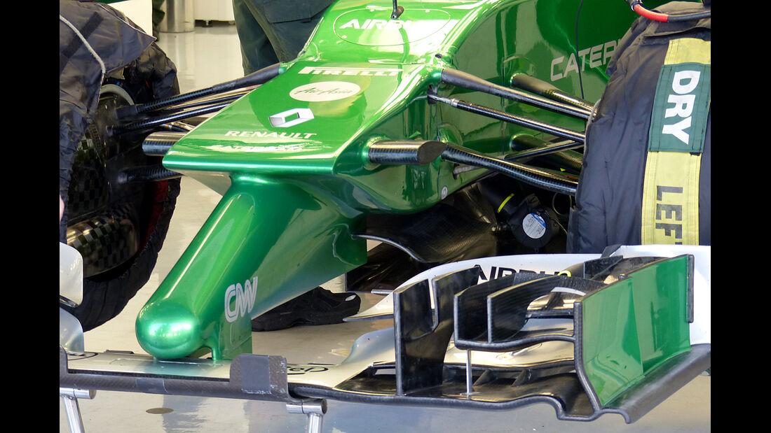 Caterham - Formel 1 - Test - Bahrain - 1. März 2014