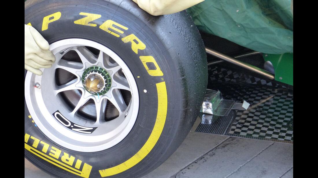 Caterham - Formel 1 - Test - Bahrain - 22. Februar 2014