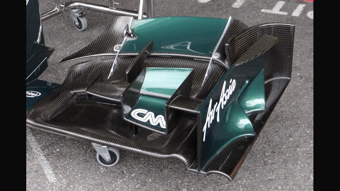 Caterham Frontflügel - Formel 1 - GP Deutschland - 20. Juli 2012