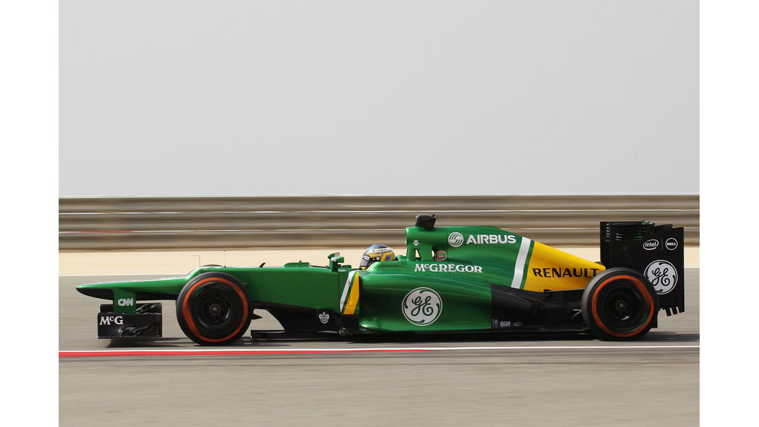 Caterham GP Bahrain 2013