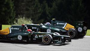 Caterham - GP Belgien 2012
