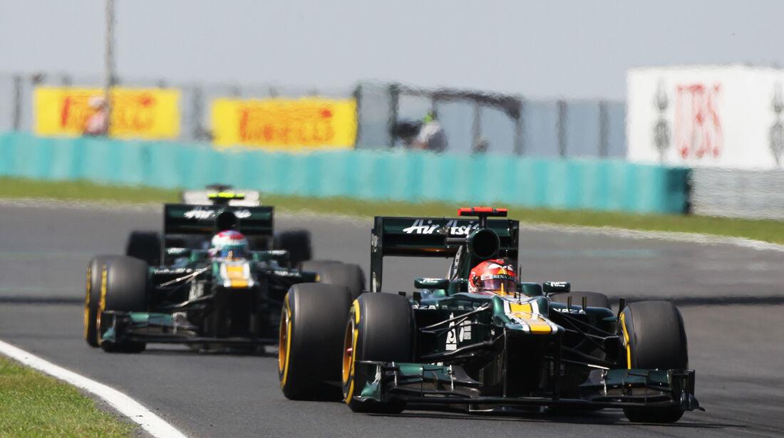 Caterham GP Ungarn 2012