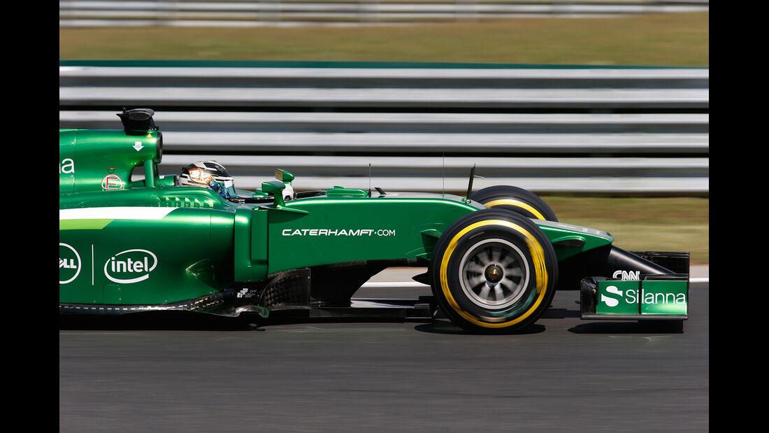 Caterham - GP Ungarn 2014