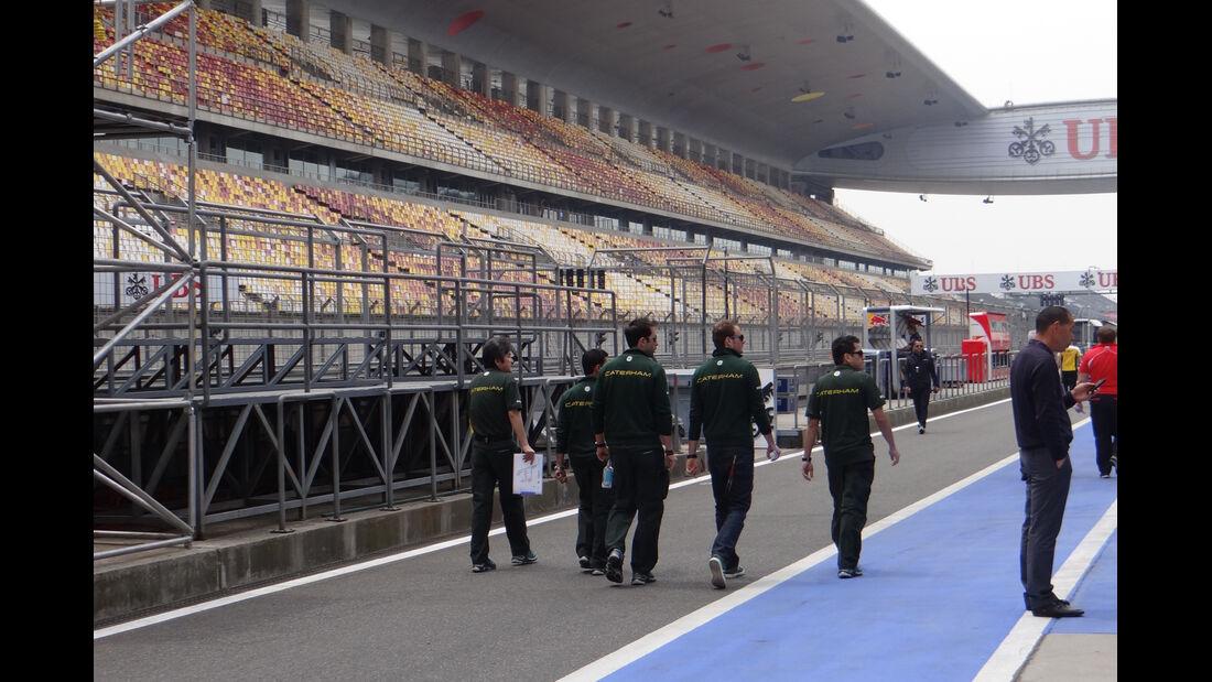 Caterham Giedo van der Garde - Formel 1 - GP China - 11. April 2013