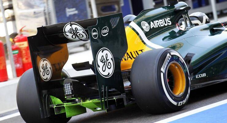 Caterham Heck - Formel 1 - GP Abu Dhabi - 01. November 2012