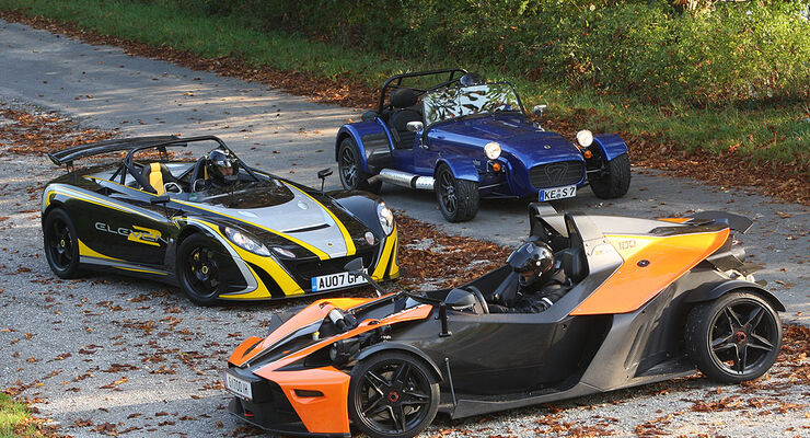 Caterham, KTM, Lotus