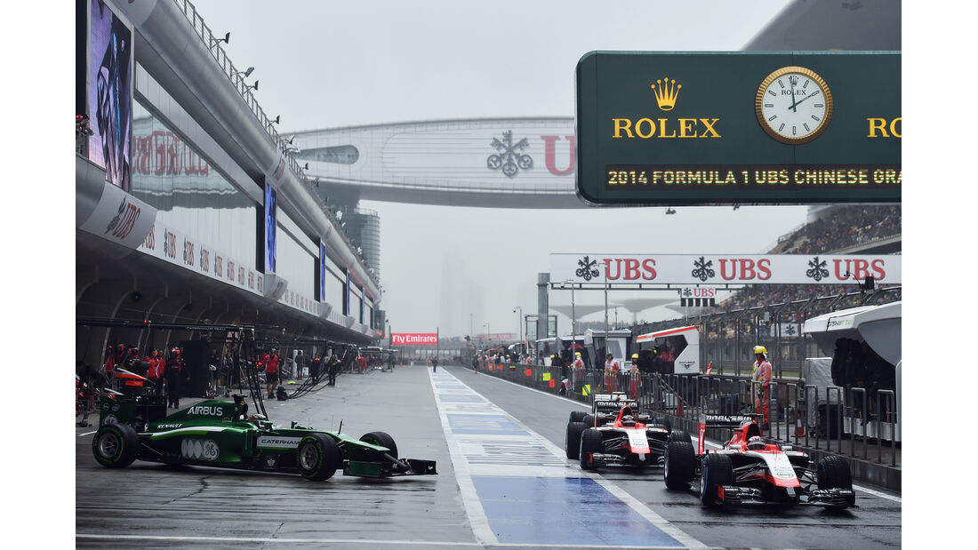 Caterham & Marussia - Formel 1 - GP China - Shanghai - 19. April 2014