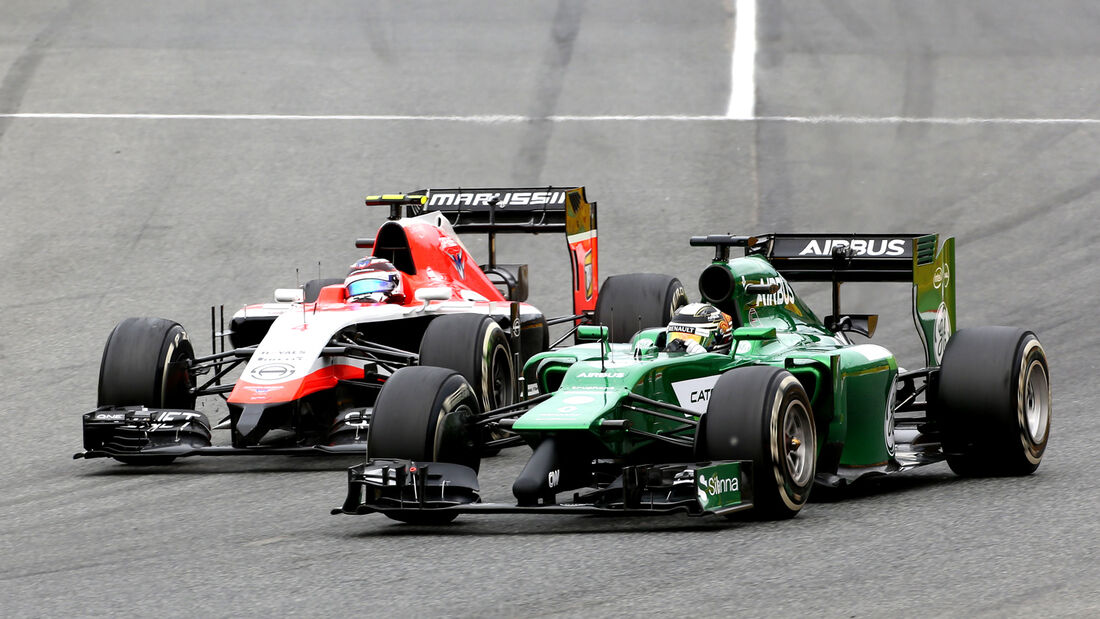 Caterham & Marussia - GP Spanien 2014