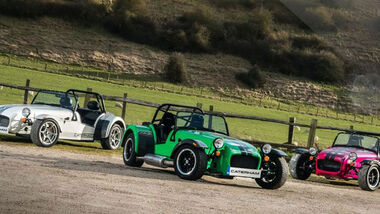 Caterham Modellpalette