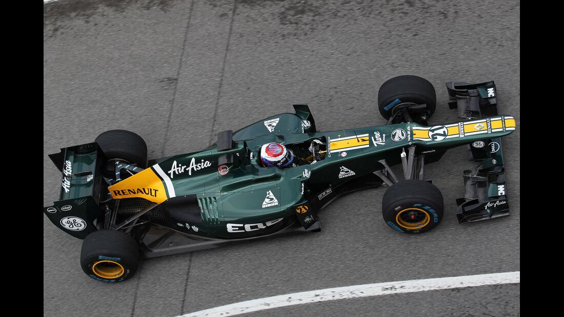 Caterham Mugello 2012 Formel 1 Technik