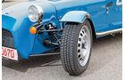 Caterham Seven 165, Rad, Felge