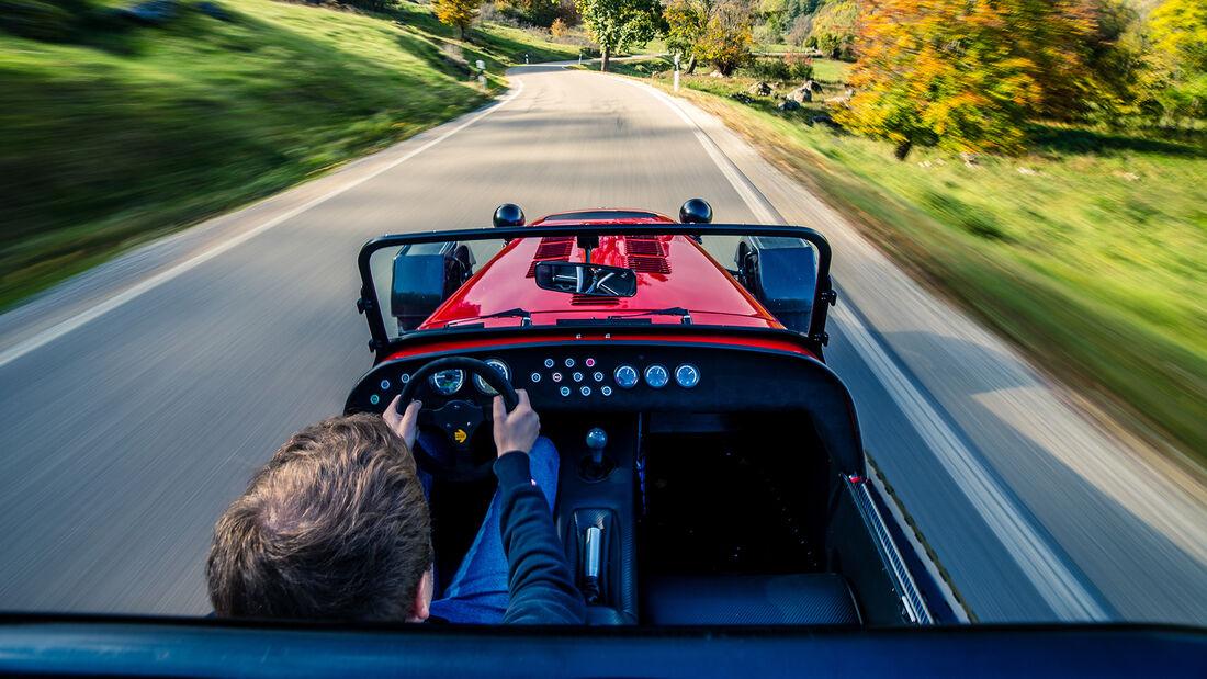 Caterham Seven 485 CSR - Sportwagen - Fahrbericht