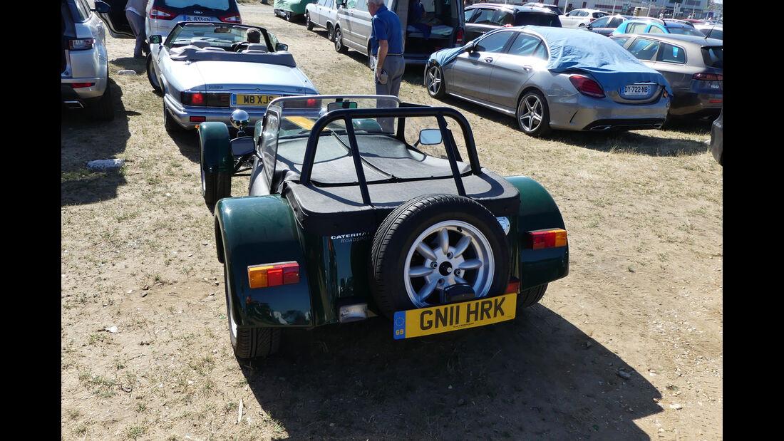Caterham Seven Roadsport - Carspotting - Fan-Autos - 24h-Rennen Le Mans 2017