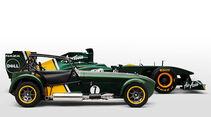 Caterham Seven Team Lotus Special Edition, Team Lotus T128 F1