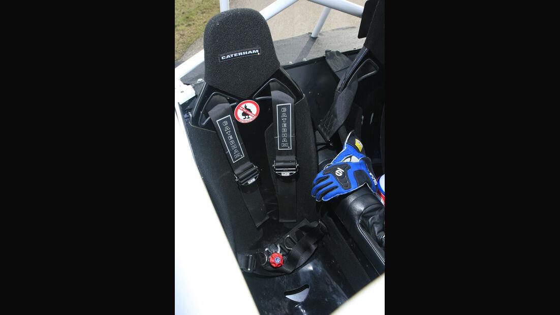 Caterham Superlight R300-Race Beifahrersitz