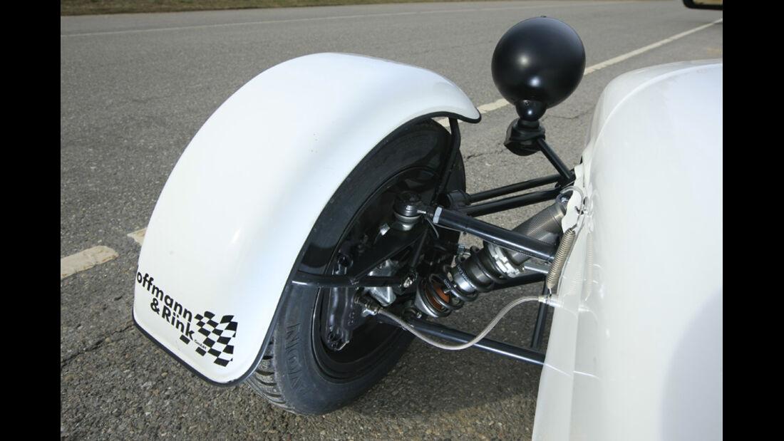 Caterham Superlight R300-Race Doppelquerlenker Vorderachse