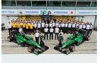 Caterham - Teamfoto - GP Italien 2014