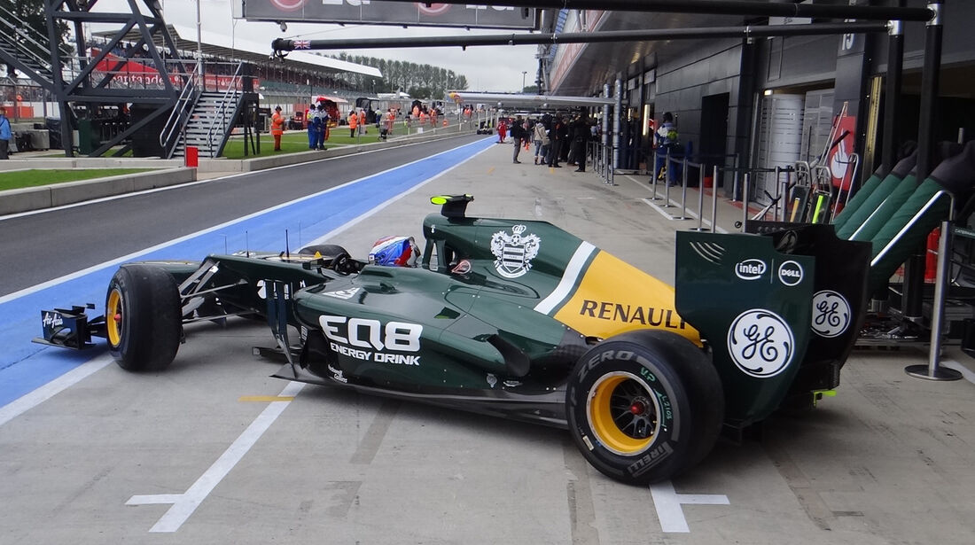 Caterham Technik GP England 2012