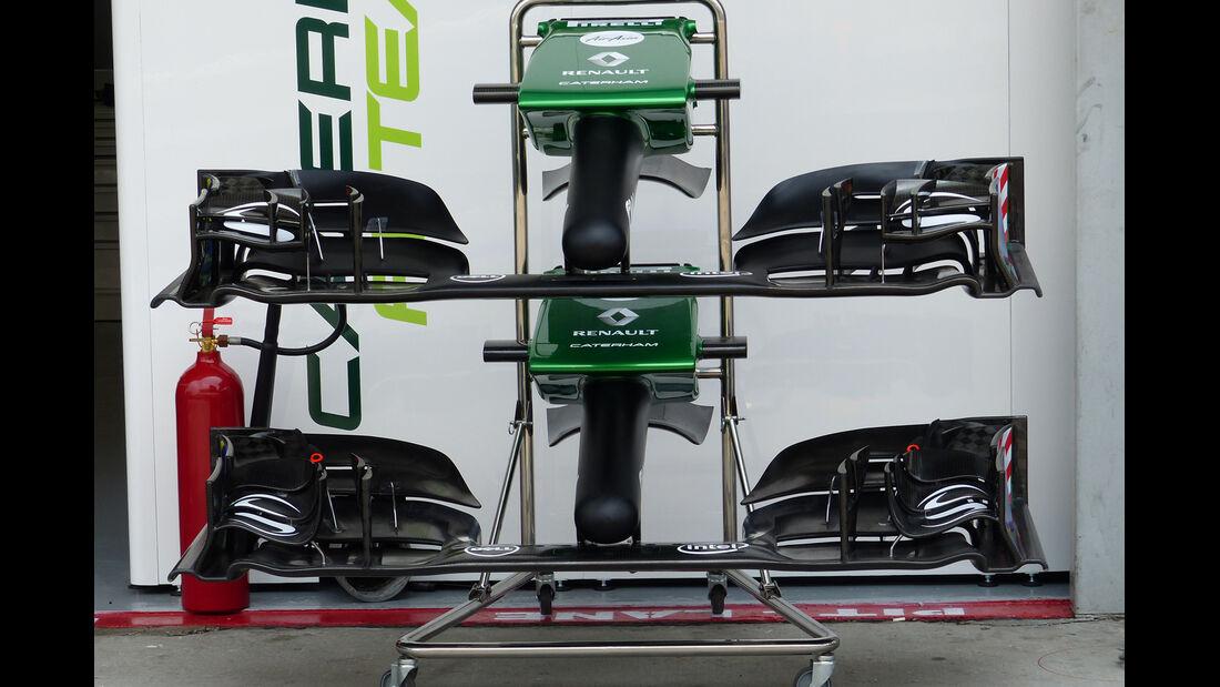 Caterham - Technik - GP Malaysia 2014