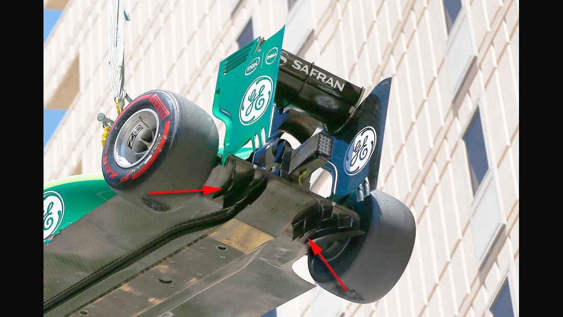 Caterham - Technik - GP Monaco 2014