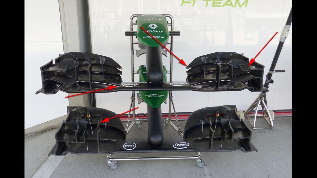 Caterham - Technik - GP Russland 2014