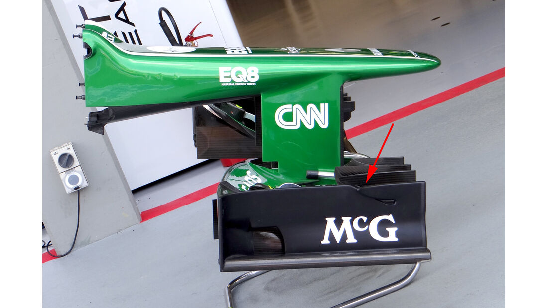 Caterham - Technik - GP Singapur 2013