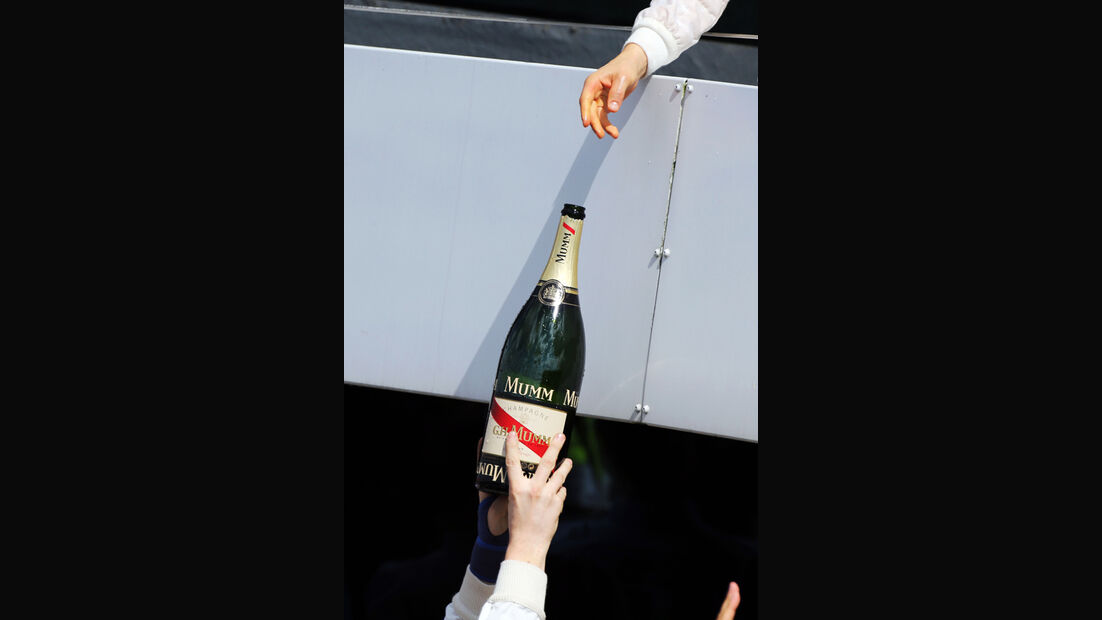 Champagner - GP England 2014