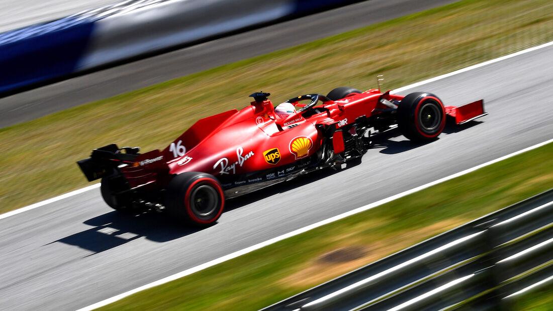 Charles Le clerc - Ferrari - GP Steiermark 2021 - Spielberg