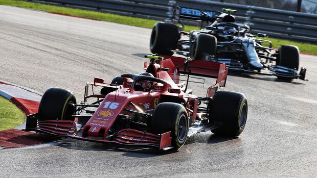 Charles Leclec - Ferrari - Formel 1 - GP Türkei - Istanbul - Freitag - 13.11.2020