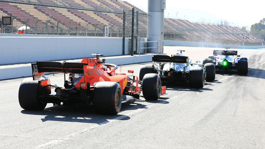 Charles Leclerc - F1-Test - Barcelona - 2019