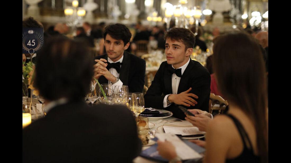 Charles Leclerc - FIA Preisverleihung - Versailles